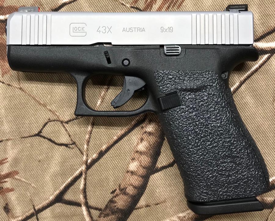 fits Glock 43X, 48 pistols