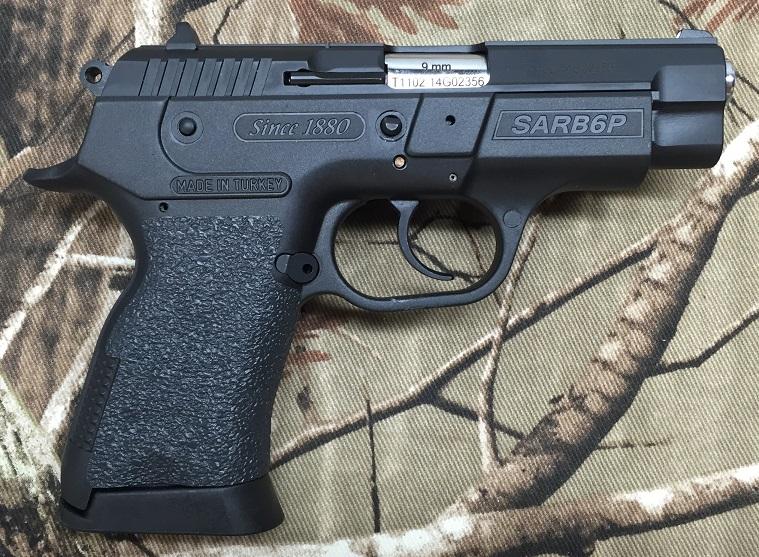 Tractiongrips: fit EAA Sarsilmaz SAR B6P Compact